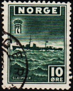 Norway. 1943 10ore S.G.343 Fine Used