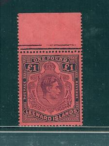 Leeward Islands, 115a, King George VI Single,**MNH**