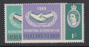 Falkland Islands, Scott 156-157 (SG 221-222), MHR