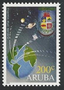 Aruba #88 200c Express Mail Svc 1993 mnh