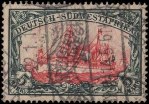 German South West Africa 34 used