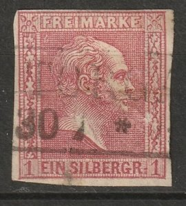 Prussia 1858 Sc 11 used