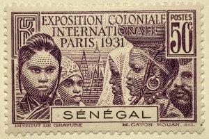 AlexStamps SENEGAL #139 XF Mint