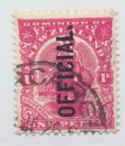 New Zealand Stamp Scott #O24, Used, Perf 14x15 - Free U.S. Shipping, Free Wor...
