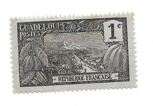 Guadeloupe 1905 - Mint - Scott #54
