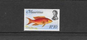 FISH  - MAURITIUS #356  MNH