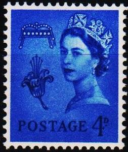Great Britain(Guernsey). 1958 4d S.G.8 Unmounted Mint
