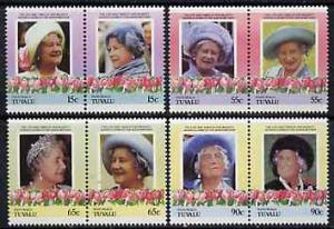 Tuvalu - Nanumaga 1985 Life & Times of HM Queen Mothe...