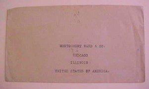 IRAN   1922  TO  USA