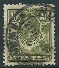 Northern Rhodesia  SG 9 Used heavy cancel 21 AP 25