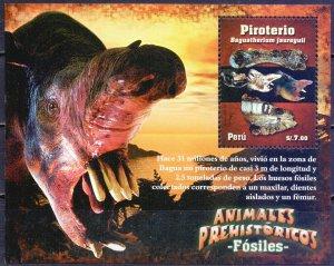 Peru. 2009. Dinosaurs. MNH.