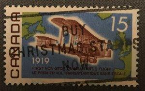 Canada # 494 Used