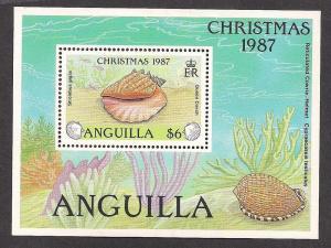 ANGUILLA SC# 749 VF MNH 1987