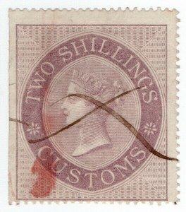 (I.B) QV Revenue : Customs Duty 2/-