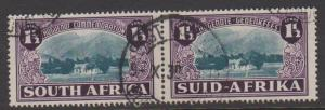 South Africa Sc#B11 Used