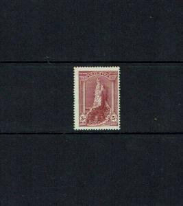 Australia: 1938 5/- 'Robe' bright claret, SG 176,  MNH