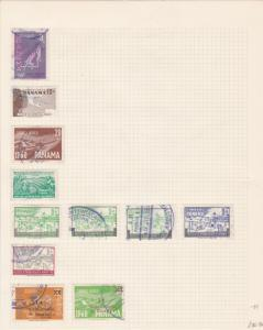 panama stamps page ref 17166