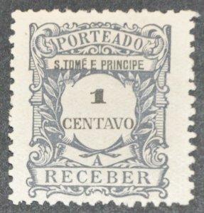 DYNAMITE Stamps: St. Thomas & Prince Islands Scott #J43 – MINT hr