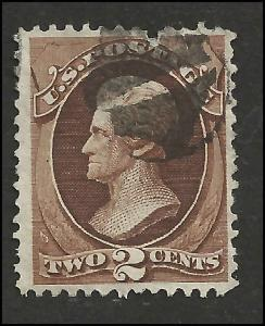 # 157 Brown Used FAULT Andrew Jackson