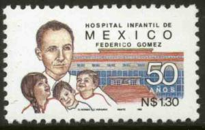 MEXICO 1815, 50th Anniv of the Childrens Hospital MINT, NH. VF.