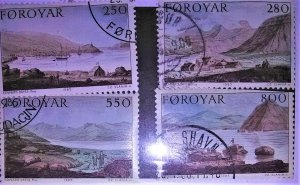 Faroe Island Scott #121-4