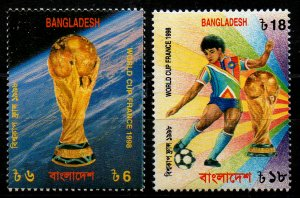 Bangladesh FIFA World Cup Football Soccer France (1998) MNH