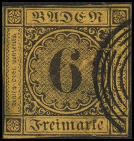 German States-Baden 9 used