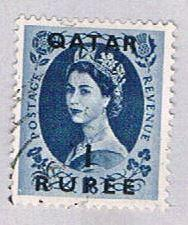 Qatar 12 Used QEII 1957 (BP30829)