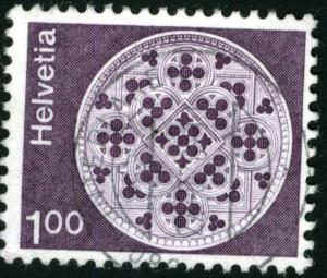 SWITZERLAND #569 , USED - 1974 - SWIT014