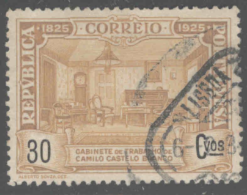 Portugal  Scott 357 Used from 1925 Branco set