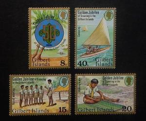 Gilbert Islands 304-07. 1977 Scouting