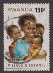 Rwanda 1026 SOS Children's Village 1981