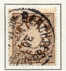 Bayern Bavaria 1888 Early Issue Fine Used 50pf. NW-120734