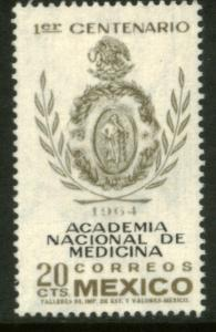 MEXICO 955, 20¢ Centenary of the National Academy of Medicine MINT, NH. VF.