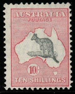 AUSTRALIA SG136 1932 10/= GREY & PINK MNH
