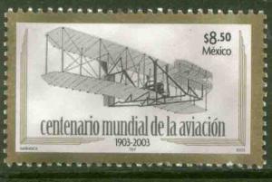 MEXICO 2306, Centenary of Powered Flight. MINT, NH. F-VF.