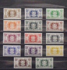 6362   Wallis Futuna   MH # 127-140               CV$ 12.70