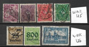 COLLECTION LOT #423 GERMANY 7 STAMPS 1921+ CV+ $45