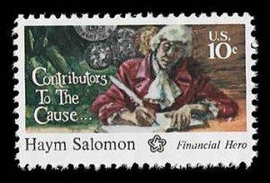 PCBstamps       US #1561 10c Haym Salomon, MNH, (10)