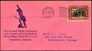 #651-10c FIRST DAY COVER SHOCKLEY CACHET BM9528