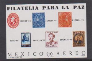 MEXICO STAMPS MINT S/S C434  LOT#420