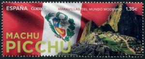 HERRICKSTAMP NEW ISSUES SPAIN Sc.# 4217 Machu Picchu