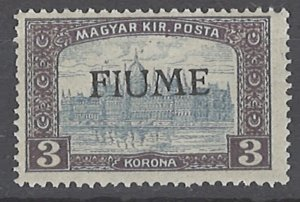 COLLECTION LOT # 2019 FIUME #18 MNH 1918 CV= $110