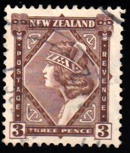 New Zealand Scott 190 Used.