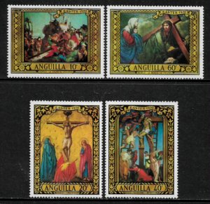 Anguilla #91-4 MNH Set - Easter Paintings