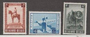Belgium Scott #B555-B556-B557 Stamps - Mint Set