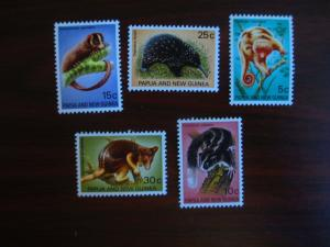 Papua and New Guinea #323-27 Mint Hinged- (JB4) WDWPhilatelic
