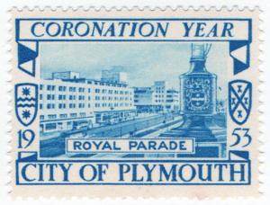 (I.B) Cinderella Collection : Plymouth Coronation Year (Royal Parade)