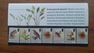 Great Britain 1998 Endangered Species Mint