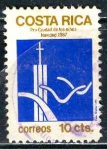 Costa Rica, 1987: Sc. # RA104; O/Used Cpl. Set
